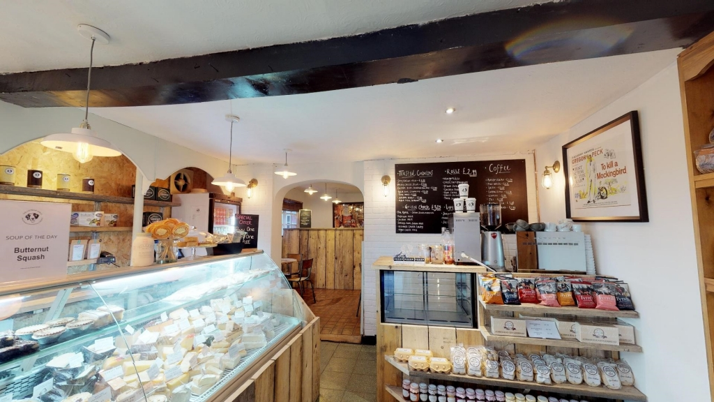 The Cheddar Gorge Deli in Ashbourne
