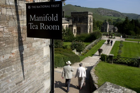 Mainfold Tea Rooms at IIam Park in Derbyshire.