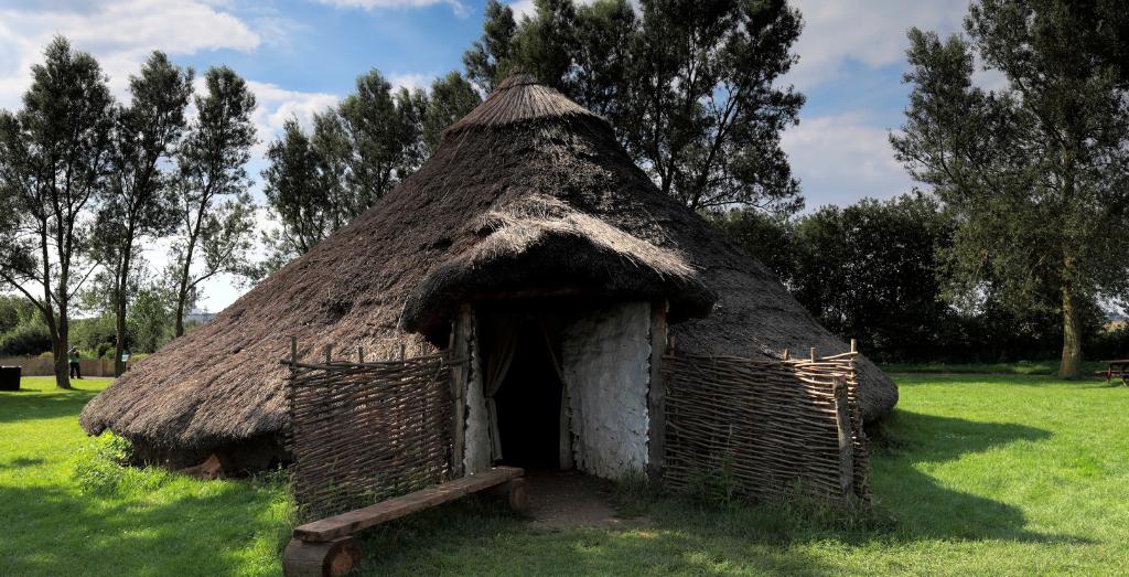 A hut at flag fenn