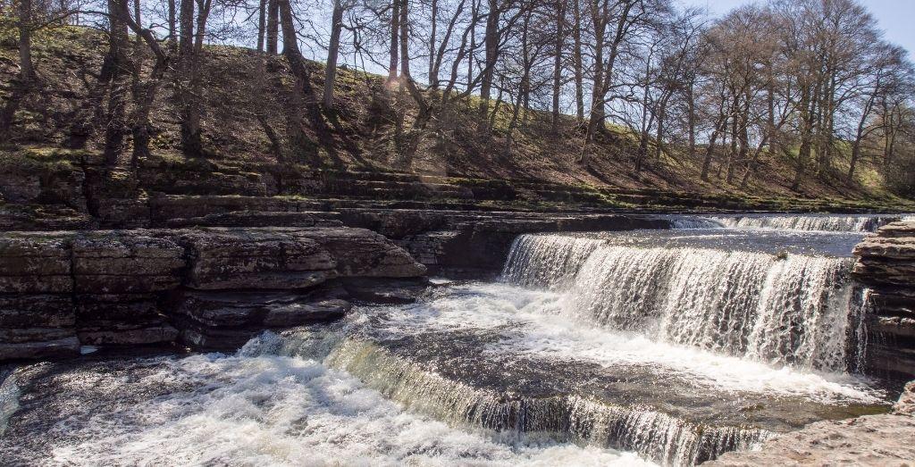 Aysgarth Falls in Yorkshire