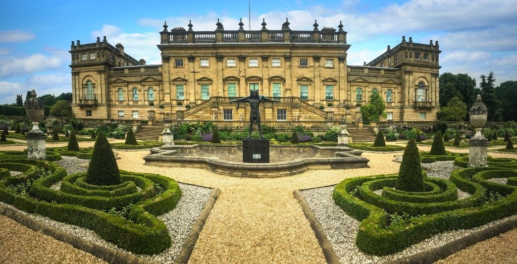 Harewood House in Yorkshire