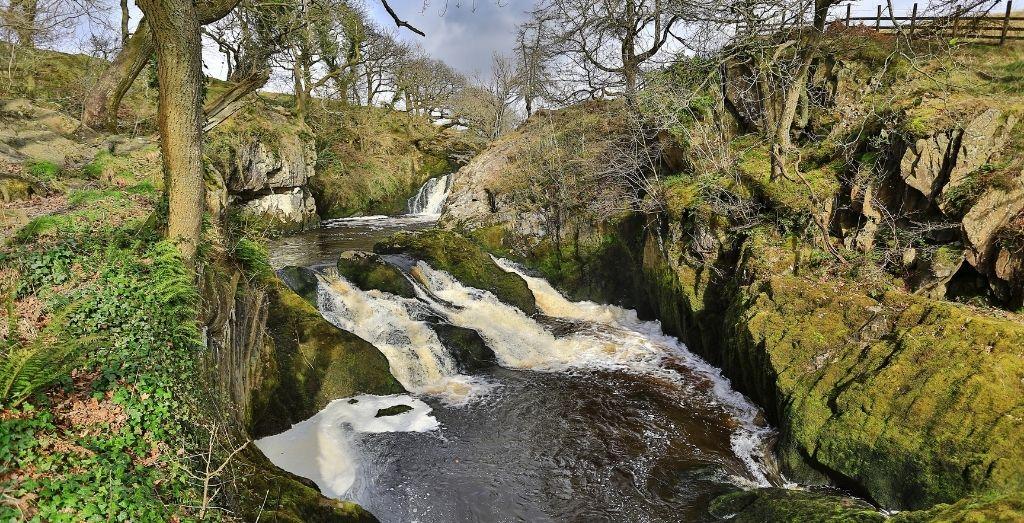 Ingleton Waterfalls Trail in Yorkshire