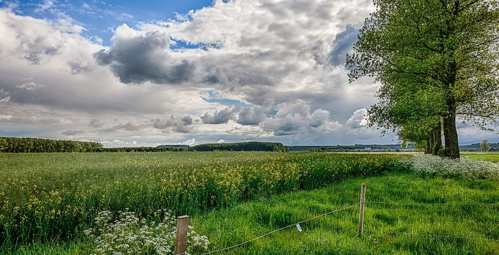 Stainton Le Vale in the Lincolnshire Wolds